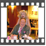 Marilyn-Monroe-Celebrity-Impersonator-Lookalike with Larry Flynt