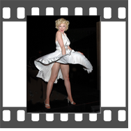Marilyn-Monroe-Celebrity-Impersonator-Look-alike-Holly-Beavon-white-dress
